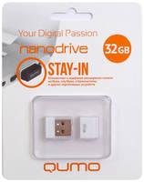 USB Flash накопитель 32GB Qumo Nano (QM32GUD-NANO-W) USB 2.0