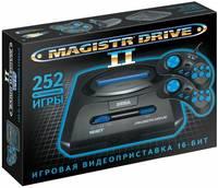 Retro Genesis Игровая приставка SEGA Magistr Mega Drive 2 (252 встроенных игр)