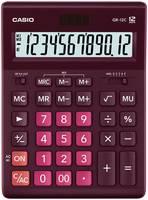Калькулятор Casio GR-12C-WR бордовый 12-разр