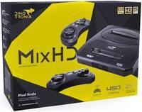 Игровая приставка Dinotronix MixHD + 450 игр + 2 беспроводных джойстика