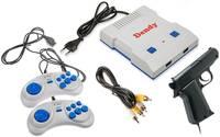 Retro Genesis Игровая приставка DENDY Junior + 300 игр + 2 джойстика + пистолет