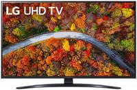 Телевизор LG 43 LED, UHD, Smart TV (webOS), Звук (2x10 Вт), 3xHDMI, 2xUSB, 1xRJ-45, 43UP81006LA