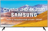 Телевизор Samsung 75 UHD, Smart TV, Звук (20 Вт (2x10 Вт)), 3xHDMI, 2xUSB, 1xRJ-45, PQI 2100. UE75TU8000UXRU