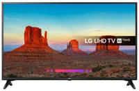 Телевизор LG 49 LED, UHD, IPS, Smart TV (webOS) Звук (20 Вт (2x10 Вт)), 3xHDMI, 2xUSB, 1xRJ-45, PMI 1500, Черный, 49UK6200PLA