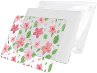 Чехол Накладка i-Blason Cover для MacBook Pro 15 A1707 (Pink Flowers)