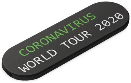 Попсокет momostick обнулись ″Coronavirus tour″