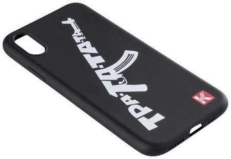Чехол-накладка Калашников ОТК0000029 для Apple iPhone X/Xs тра-та-та