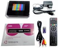 Комплект спутникового ТВ Телекарта EVO 09 HD + Телекарта 1 HD 85