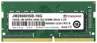 Оперативная память Transcend 16GB DDR4 2666MHz SODIMM 260-pin CL19 JM2666HSB-16G