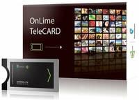 Комплект спутникового ТВ OnLime TeleCARD Телекарта ТВ