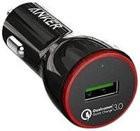 Автомобильная зарядка ANKER PowerDrive+ 1 USB + Micro USB cable