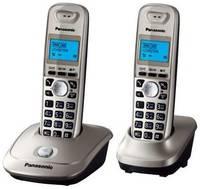 Радиотелефон Panasonic KX-TG2512 платиновый