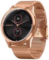 Умные часы Garmin Vivomove Luxe с миланским браслетом