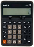 Калькулятор бухгалтерский CASIO DX-12B-W