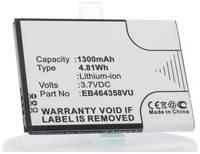 Аккумулятор iBatt iB-B1-M422 1300mAh для Samsung EB464358VU