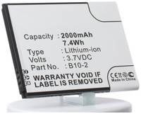 Аккумулятор iBatt iB-B1-M671 2000mAh для CAT B10-2