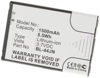 Аккумулятор iBatt iB-U4-M344 1500mAh для LG E615 Optimus L5 Dual, Optimus Sol, MS840, Optimus L3 Dual, Optimus Hub, E610F