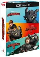ND Play Как приручить дракона. Трилогия (м/ф) (4K UHD Blu-ray) 3 BD + 3 артбука, 5 карточек