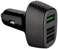 Автомобильное зарядное устройство Dorten 3-Port USB 30W Smart ID Car Quick Charger QC3.0+2.4A и AFC (Samsung), FCP (Huawei)