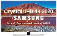 """Телевизор Samsung UE55TU7500U 55"""" (2020), титан"""