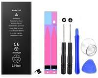 Wewo Аккумулятор ультра повышенной емкости 2010 мАч для Apple iPhone 5 + набор отверток, клейкая лента, лопатки, присоска