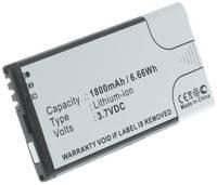 Аккумулятор iBatt iB-B1-M1122 1800mAh для телефонов Microsoft, Nokia BL-5H