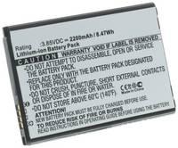 Аккумулятор iBatt iB-B1-M2154 2200mAh для телефонов LG BL-45F1F, EAC63321601