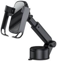 Магнитный держатель с беспроводной зарядкой Baseus Rock-solid Electric Holder Wireless Charger Kit