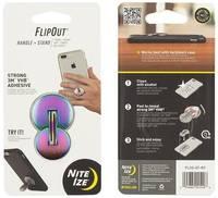 Подставка для телефона Nite Ize Flip Out Handle+Stand Spectrum