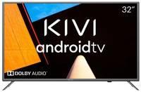 "Телевизор KIVI 32H710KB 32"" (2020), темный титан"