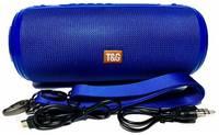 Портативная Bluetooth колонка T&G TG-537, синяя