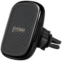 Магнитный держатель с беспроводной зарядкой Pitaka CM3001Q gun metal