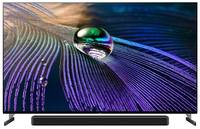 "Телевизор OLED Sony XR-55A90J 55"" (2021), титан"