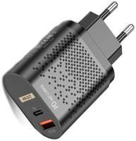 Life Style Сетевое зарядное устройство зарядка для телефона (ЗУ) / 20W для смартфона Apple iPhone и MagSafe с функцией быстрой зарядки QC 3.0 / Адаптер питания USB Type-C 20 Ватт / Quick Charge 3.0 / USB-C Power Adapter 20Watt для мобильных устройств и до