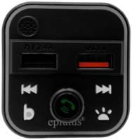 Автомобильный FM-модулятор с Bluethooth и голосовым помощником Eplutus FB-13