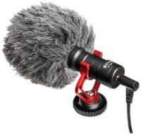 BOYA BY-MM1 + Профессиональный видео-звукозапись Микрофон Встроенный