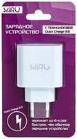 Сетевое зарядное устройство Quick charge MIRU