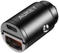 Автомобильное зу Aukey CC-A3 USB-C+USB 3.0 30W