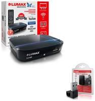 Цифровая приставка Lumax 1115 HD + Wi-Fi адаптер