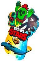 WOODENTEKA Подставка для смартфона Brawl Stars Ассорти