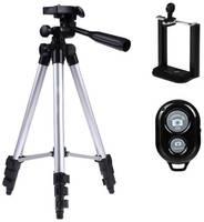 Штатив для телефона и камеры, для съемки, тренога, универсальный трипод ISA, пульт Bluetooth
