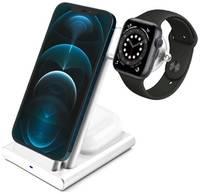 COTEetCI Беспроводная зарядка 3-в-1 COTEetA CS5700(WS20) Aluminium (iPhone+Apple Watch+AirPods)