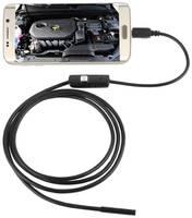 Эндоскоп для смартфона водонепроницаемый с подсветкой 1м InnoZone 480P 7мм