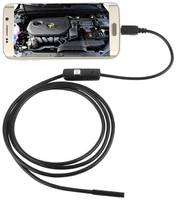 Эндоскоп для смартфона водонепроницаемый с подсветкой 1м InnoZone 720P 7мм