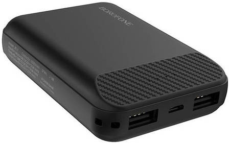 Внешний аккумулятор Borofone Power Bank BT17 RayPower Mini 10000mAh Black