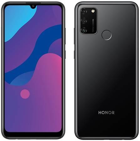 Сотовый телефон Honor 9A 3/64Gb Midnight & Wireless Headphones