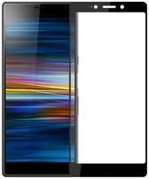 Защитное стекло Brosco для Sony Xperia 5 Full Screen Full Glue Black 5-FSP-GLASS-BLACK