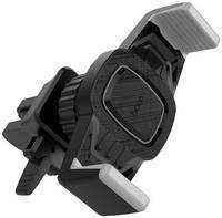 Держатель Hoco CA38 Platinum Sharp Air Outlet -Grey