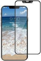 Защитное стекло Brosco для APPLE iPhone X 3D 0.3mm Black IPX-3D-GLASS-BLACK