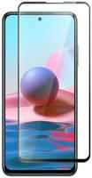 Защитное стекло Krutoff для Xiaomi Redmi Note 10 / Note 10S Full Glue Premium Black 23438